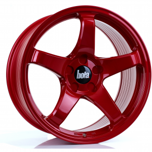 Cerchi in lega  BOLA  B2R  18''  Width 9,5   5x108  ET 30 to 45  CB 76    Candy Red