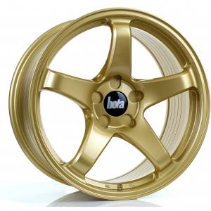 Cerchi in lega  BOLA  B2R  18''  Width 9,5   5x110  ET 30 to 45  CB 76    Gold