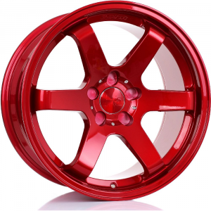 Cerchi in lega  BOLA  B1  18''  Width 9,5   5x120,65  ET 30 to 45  CB 76    Candy Red