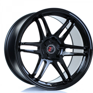 Cerchi in lega  2FORGE  ZF5  18''  Width 11   5x100  ET 15 to 50  CB 76    Gloss Black