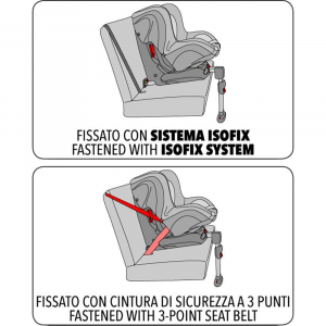 Seggiolino auto Tiziano Isofix 9-18 kg