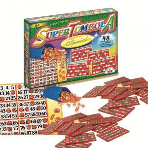 SUPER TOMBOLA SPECIAL 48C. 93 ARTI GRAFICHE RUGGERO SALA