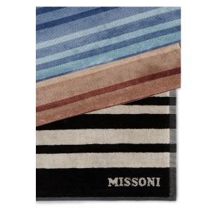 TELO MARE AYRTON 160 di MISSONI HOME a righe multicolore