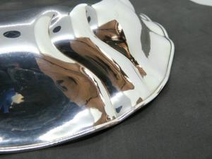 Centrotavola in Argento con lavorazione a sbalzo Handmade