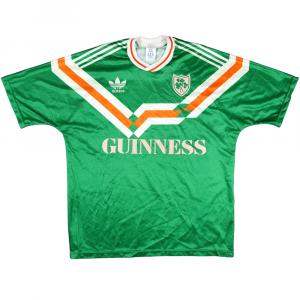 1990 Irlanda Maglia Home Guinness Prototipo L (Top)