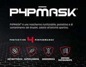 Mascherina lavabile sportiva Mico P4PMASK