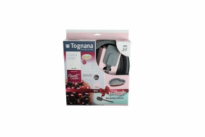 TOGNANA -  Sweet cherry - Set Tortiera A Cuore 24 Cm + Spatola In Silicone