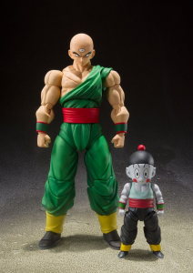 *PREORDER* Dragon Ball - S.H. Figuarts: 2-Pack TENSHINHAN & CHAOZ by Bandai Tamashii