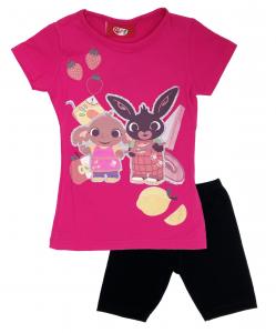 Completo T-Shirt con pinocchietto corti Mis. 2 3 4 5 anni Estate 2021