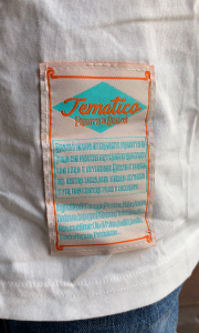 T-SHIRT RICAMO TEMATICO
