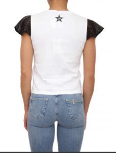T shirt maniche paillettes - LIU JO