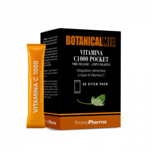 BOTANICAL MIX VITAMINA C1000 POCKET