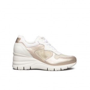 Sneaker saturn con zeppa NeroGiardini