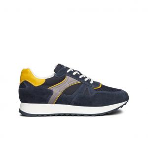 Sneaker blu/gialla NeroGiardini
