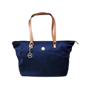 Shopper blu Melluso