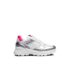 Chunky sneaker argento NeroGiardini
