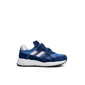 Sneaker navy/arancio NeroGiardini
