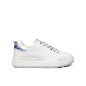 Sneaker bianca/argento NeroGiardini