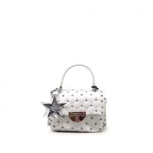Minibag bianca matelassè PashBag