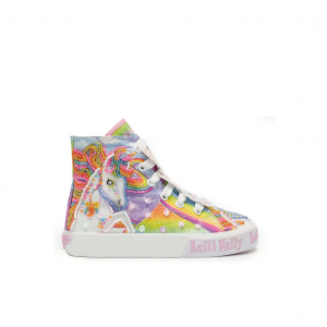 Sneaker alta fantasia unicorno/bianco Lelli Kelly