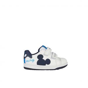 Sneaker bianca/blu Mickey Mouse Disney Geox