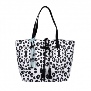 Shopper fantasia animalier reversibile PashBag