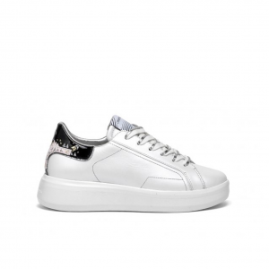 Sneaker bianco perlato Crime London
