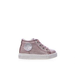 Sneaker rose gold quadrettata Falcotto
