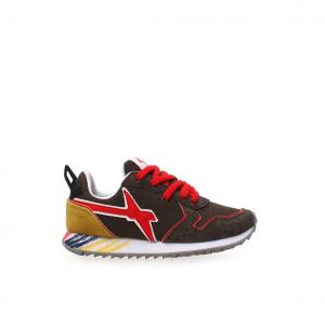 Sneaker militare/rosso W6YZ