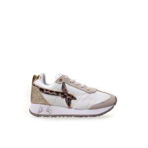 Sneaker bianco/animalier W6YZ