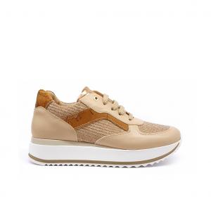 Sneaker nude/geo 1a Classe by Alviero Martini