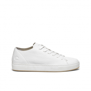 Sneaker bianca taglio vivo Crime London