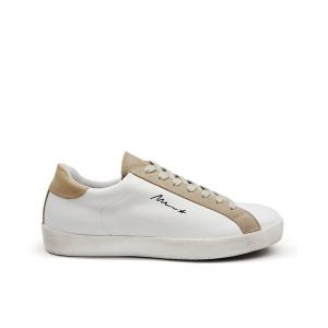 Sneaker bianca/beige Méliné