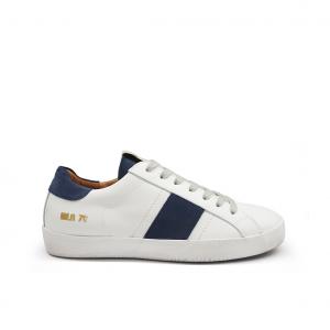 Sneaker bianca/blu Méliné