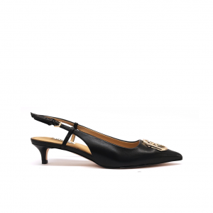 Slingback nero Guess