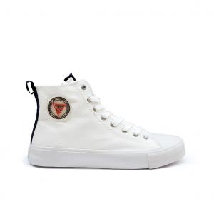 Sneaker alta bianca Guess