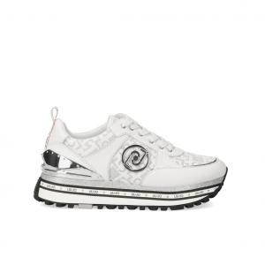 Sneaker platfrom bianca/logata Liu Jo