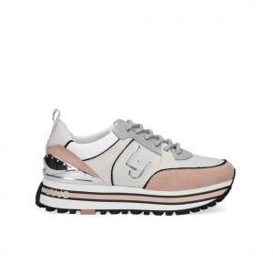 Sneaker platform bianca/nude Liu Jo