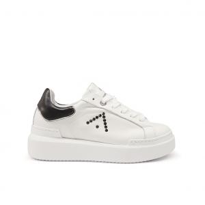 Sneaker bianca/nera Ed Parrish