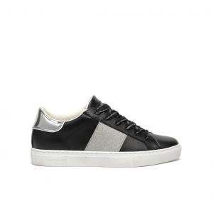 Sneaker nera con banda Crime London
