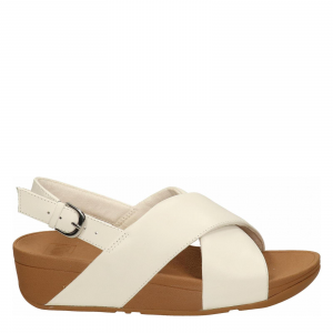LULU LEATHER BACK-STRAP SANDAL