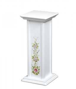 Pedestal decorado para macetas- 60 cm