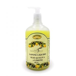 Sapone liquido all'olio di oliva e limone ml 500