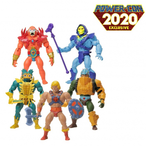 Masters of the Universe ORIGINS: LORDS OF POWER 5 Pack Power-Con by Mattel 2020