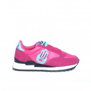 Sneaker fuxia/azzurro Kamsa