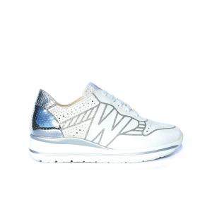 Sneaker ghiaccio melluso