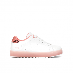 Sneaker bianca/cipria CAFèNOIR