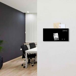 Organizer portalettere da parete Post It 40x20 cm con 3 magneti