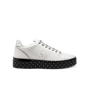 Sneaker bianca con fondo stelline Liu Jo