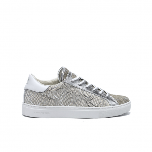 Sneaker argento Crime London